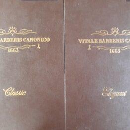 CANONICO vol1-2 2020SS